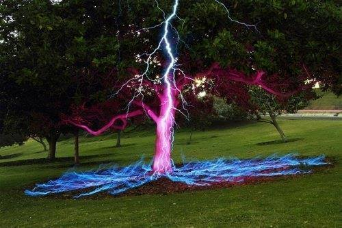 Uranus Lightning